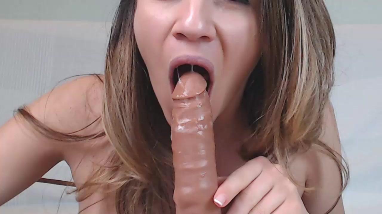 Asian Webcam Black Dildo